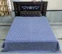 Cotton Indigo Blue Kantha Bed Covers