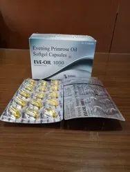 Eve Evening Primrose Oil Softgel Capsules 1000 mg, Grade Standard:Medicine Grade