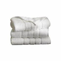 White Soft Cotton Bathroom Towel