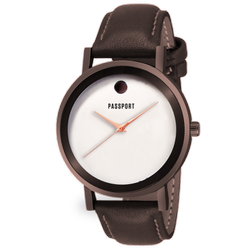 Brown Leather Gents Leather Watch
