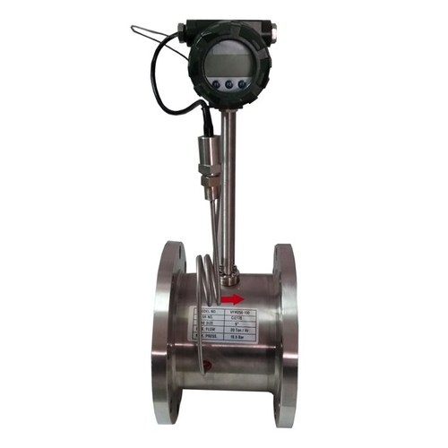 Vortex Steam Gas & Liquid Mass Flow Meter - IBR approved