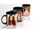 White Patch Sublimation Mug