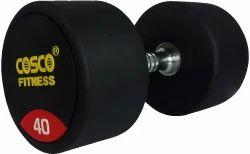 Round Dumbbell Rubber 40 Kgs 28409