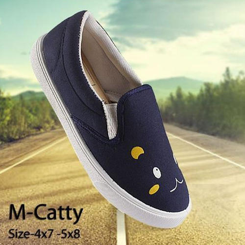 girls casual slip on shoes