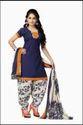 Vaamsi Womens Blended ALine Dress Material Deep1017 Blue