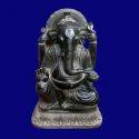 Black Marble Hindu God Statue