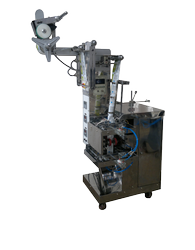 FFS Machine With Piston Filler For Liquids