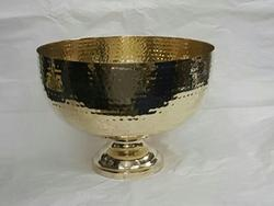 Round Handmade Hammered Plates Bowl