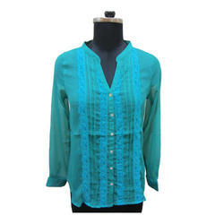 Blue Surplus Ladies Shirts