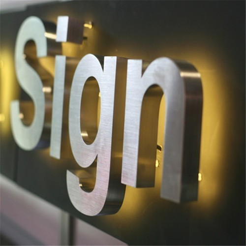 Stainless Steel Signage Ss Sign Board Steel Letter Sign