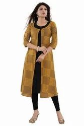 Double Layered Rayon Kurti