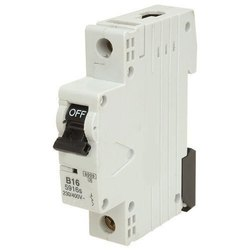 No.Of Poles: 1 Pole One Pole Miniature Circuit Breaker, 12.5ka