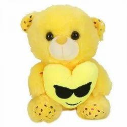 Yellow Color Soft Stuffed Teddy Bear