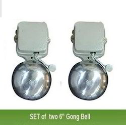 Swaggers Set Of 2 Electric Gong Bell