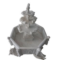 Marble Carved Water Fountain