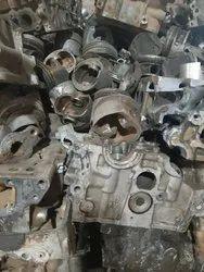 Silver Aluminium Tense Scrap