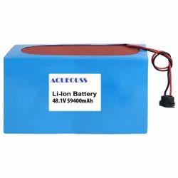 59400mAh 48.1V Li Ion Battery
