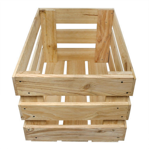 Fruits Wooden Crate At Rs 300 Piece