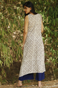 PRINTED DOUBLE LAYER LONG KURTI