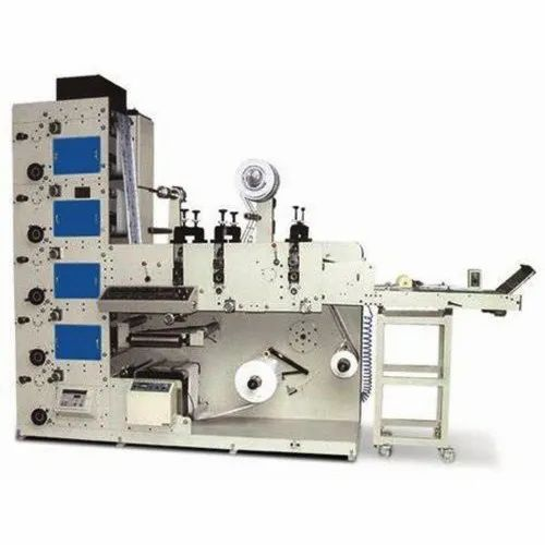 Fully Automatic 4 Color Flexo Printing Machine