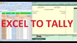Excel to Tally Software Service