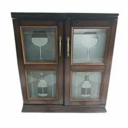 Designer Wooden Glass Cabinet