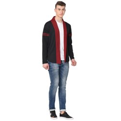 Glito Mens Plain Cotton Cardigan