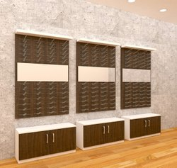 Optical Showroom Wall Display Unit