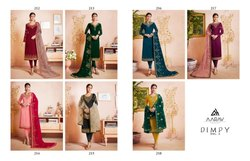 Designer Gorget Salwar Suits