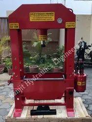 Manual Hand Operating Hydraulic Press 50 Ton