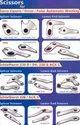Scissors for Schlafhorst, Murata & Savio Autoconers