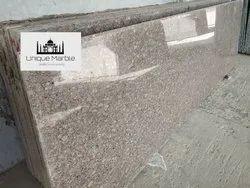 Brown Copper Silk Pearl Granite Slab, Thickness: 15-20 mm