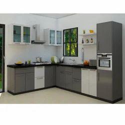 Merveilleux L Shaped Modular Kitchen