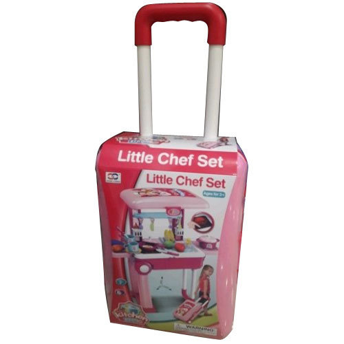 Boys And Girls Trolley Luggage Kitchen Set Toy Rs 850 Piece Id