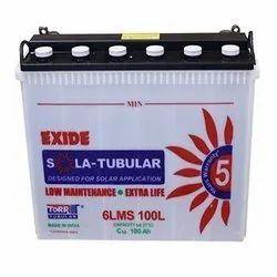 Exide Solar Tubular Batteries, Warranty: 5 Years, 12 V
