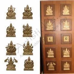 Wooden Pooja Room Door