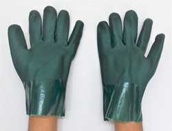 PVC Suppoted Hand Gloves 10 Inch