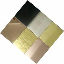 Stainless Steel Golden Sheets