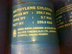 Methylene Dichloride, 250 Kg, Packaging Type: Drums