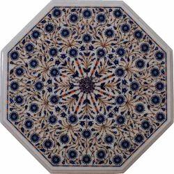 Octagonal Lapis Lazuli Table Tops