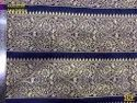 Zari Lace Border Fabric