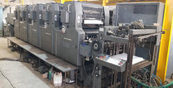 Used MOF Heidelberg MOF - 5 Color Offset Printing Machine