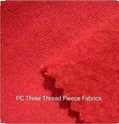 PC Three Thread Fleece Fabrics