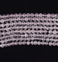 Natural Pink Rose Quartz Beads