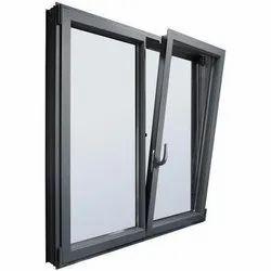 Modern Polished Aluminium Tilt Window