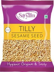 Sayyam White Sesame Seeds, Pack Size: 500gm and 1 Kg