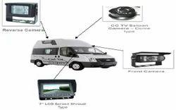 Tropicool Analog Camera Cash Van CCTV Dome Camera System