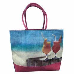 Jute Fancy Beach Bags
