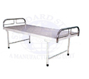 Standard Steel White Hospital Plain Bed, Size: 72x36x24