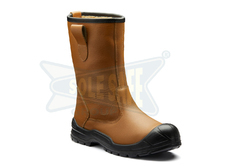 Leather Rigger Safety Boot